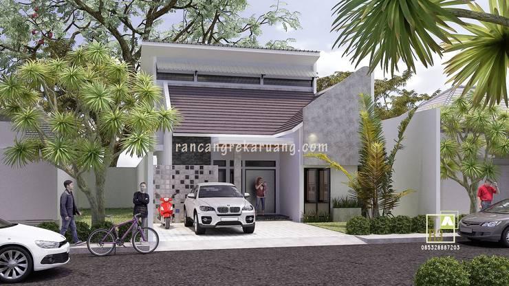Casas modernas por Rancang Reka Ruang Moderno