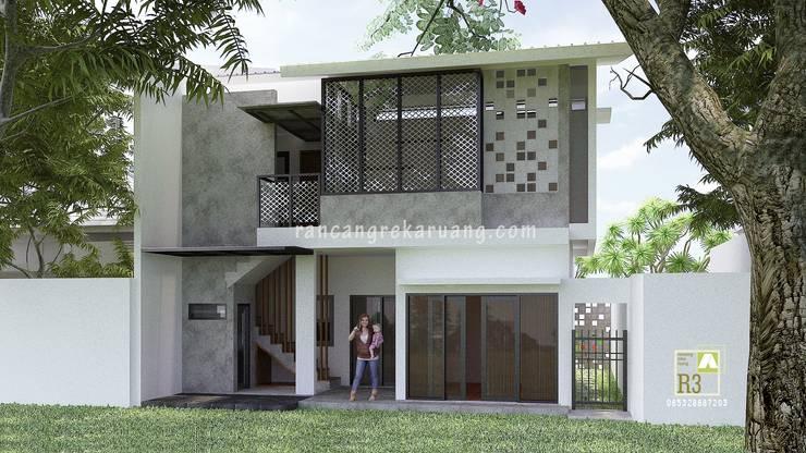 Modern houses by Rancang Reka Ruang Modern