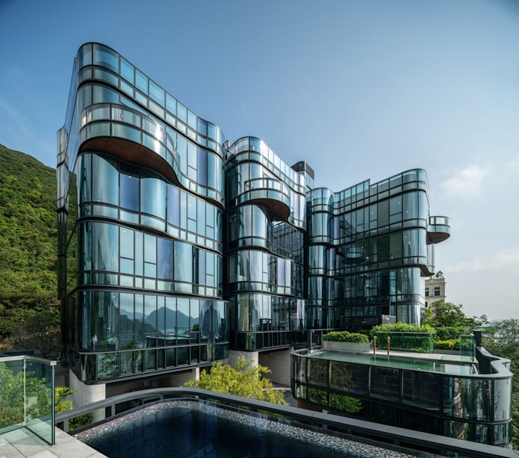 Aedas embraces beauty of Repulse Bay with the design of Pulsa:  Houses by Architecture by Aedas, Classic Metal