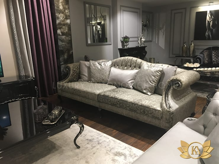 "Exclusive Sofa in KA's Showroom: {:asian=>""asian"", :classic=>""classic"", :colonial=>""colonial"", :country=>""country"", :eclectic=>""eclectic"", :industrial=>""industrial"", :mediterranean=>""mediterranean"", :minimalist=>""minimalist"", :modern=>""modern"", :rustic=>""rustic"", :scandinavian=>""scandinavian"", :tropical=>""tropical""}  by Luxury Antonovich Design,"