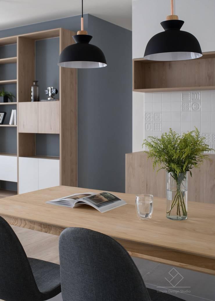 餐廳:  餐廳 by 極簡室內設計 Simple Design Studio, 北歐風