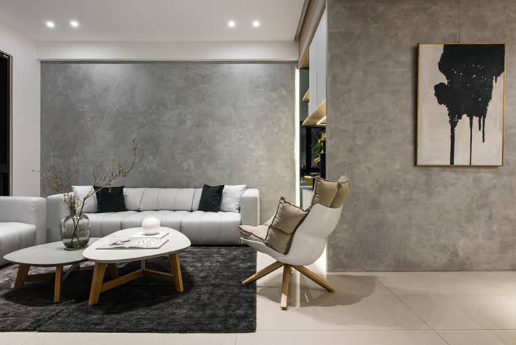 客廳:  客廳 by Fertility Design 豐聚空間設計, 現代風