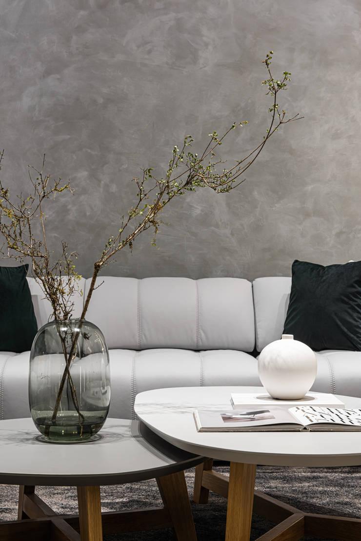 簡單的植物裝飾讓空間都活了起來: 現代  by Fertility Design 豐聚空間設計, 現代風