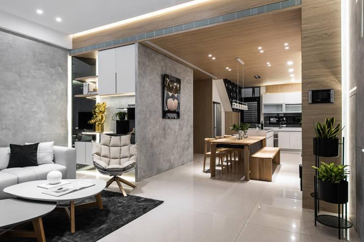 餐廳:  餐廳 by Fertility Design 豐聚空間設計, 現代風