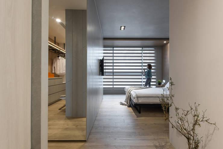 主臥室:  小臥室 by Fertility Design 豐聚空間設計, 現代風