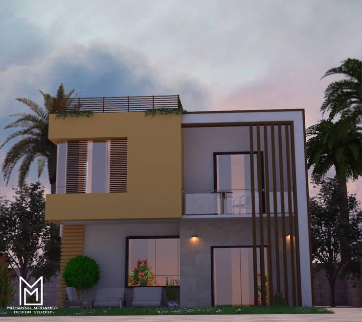 Villas de estilo  de Mohannd design studio, Ecléctico