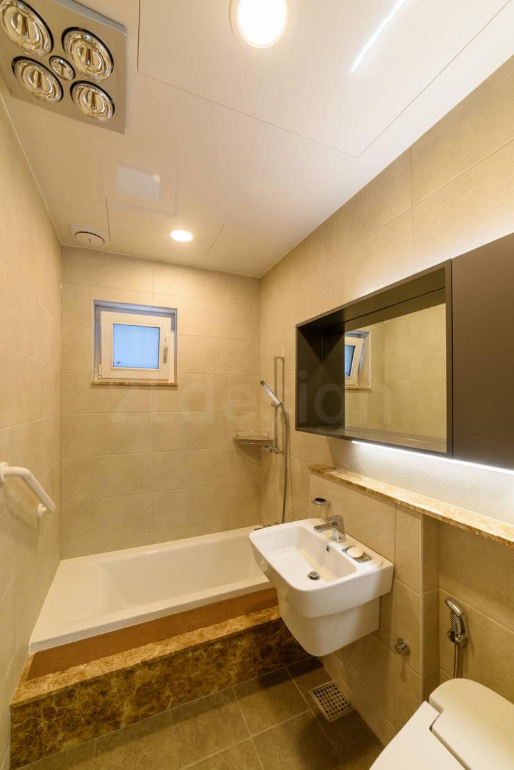 위례신도시 단독주택: 2LDESIGN [ 이엘디자인 ]의  욕실,모던