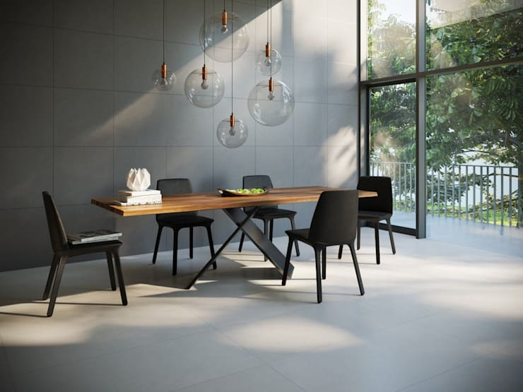 Modern dining room by Interceramic MX Modern Ceramic