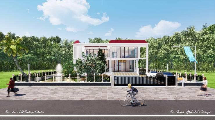 太陽能藝術別墅 Solar Art Villa:  別墅 by 盧博士虛擬實境設計工坊, 現代風 玻璃