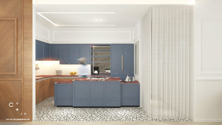 Modern kitchen by Co+in Collaborative Lab Modern