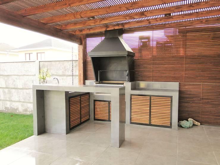 Balcon, Veranda & Terrasse modernes par Comercial Dominguez Moderne