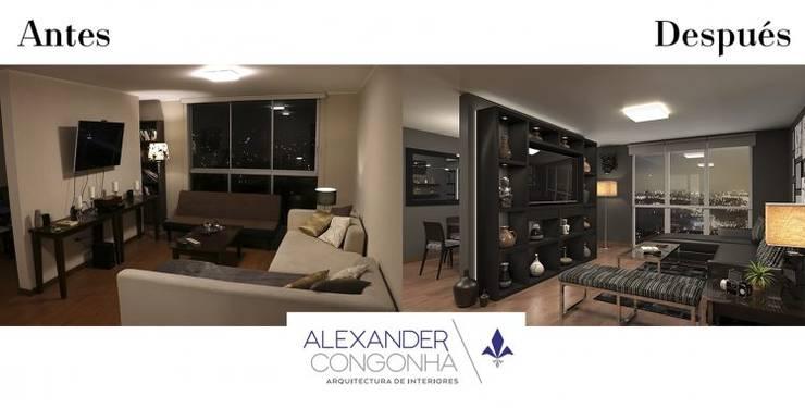 Antes y Después :  de estilo  por Alexander Congonha, Ecléctico
