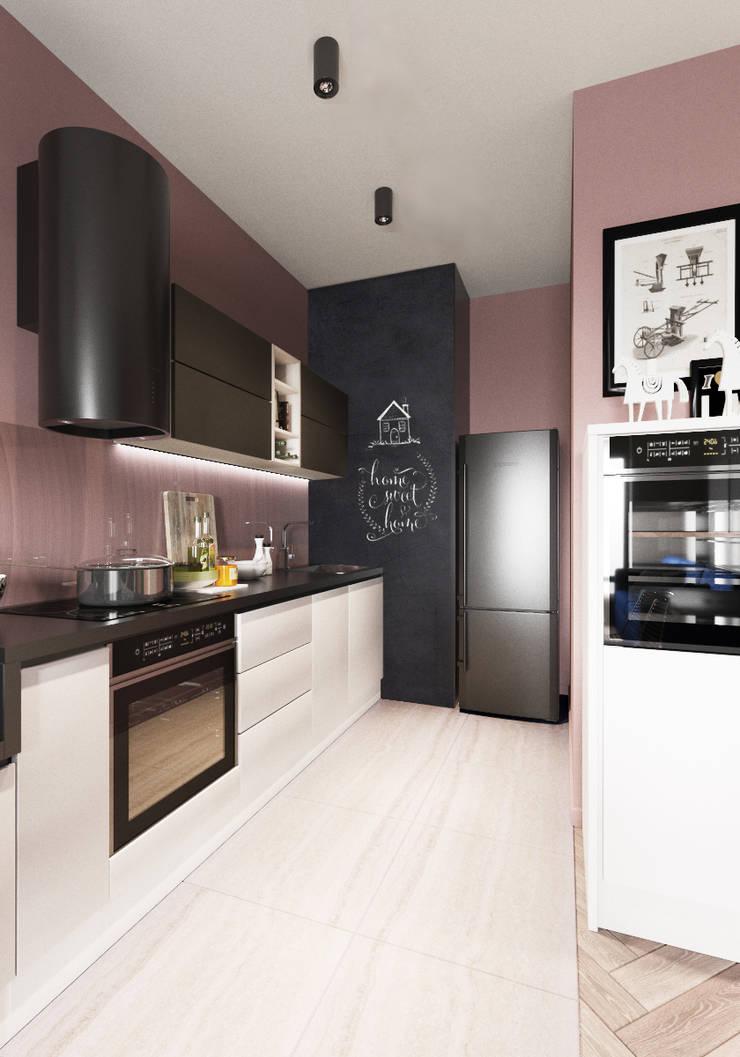Kitchen by 'INTSTYLE', Scandinavian Tiles