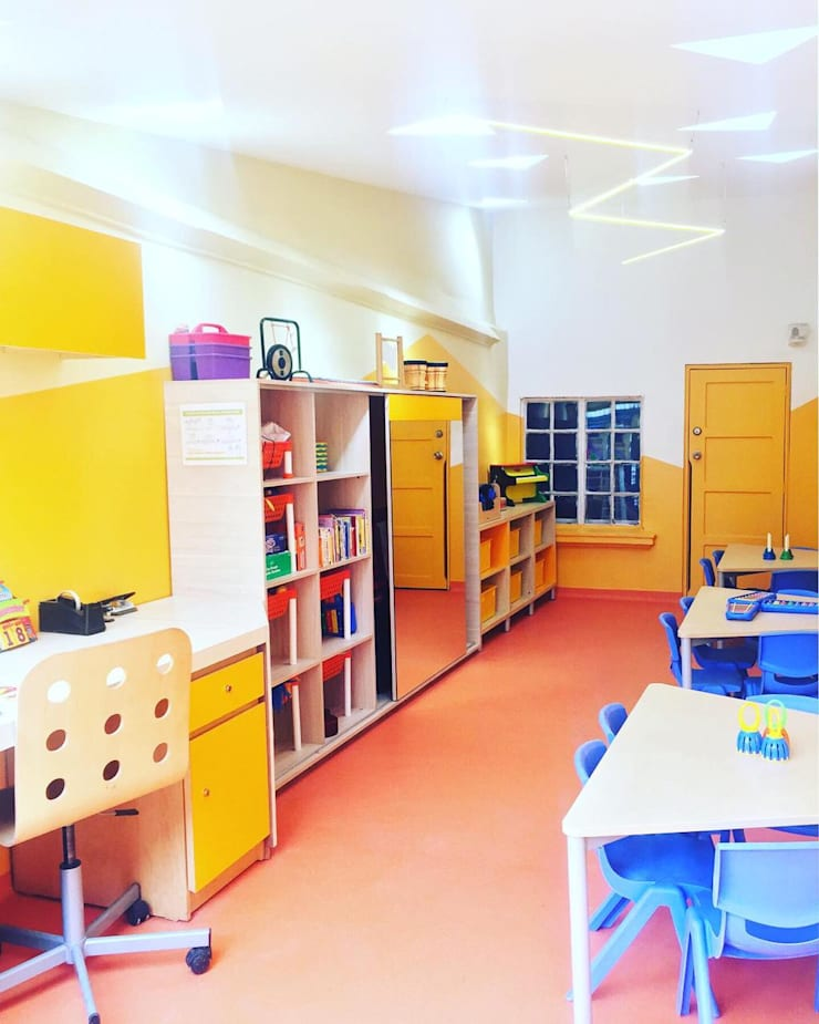 Salón de música: Escuelas de estilo  por TikTAK ARQUITECTOS, Moderno