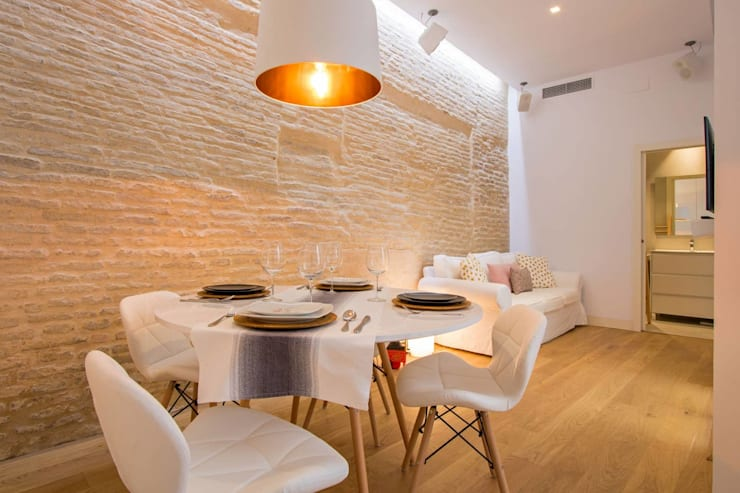 Ruang Media Modern Oleh Domonova Soluciones Tecnológicas para tu vivienda en Madrid Modern