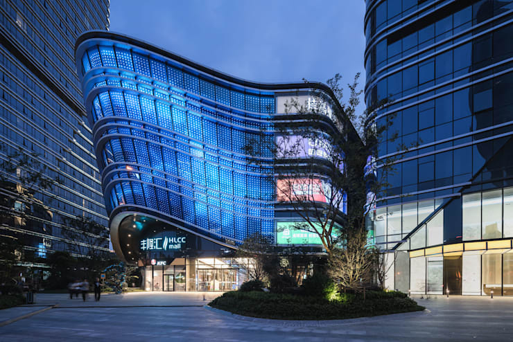 Hong Leong City Center in Suzhou by Aedas :  Study/office by Architecture by Aedas, Classic Metal
