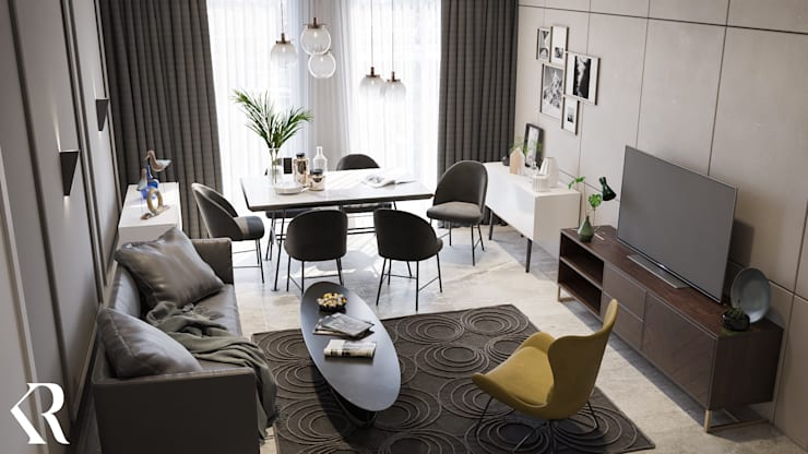 modern  by KRDS - Khaled Rezk Design Studio, Modern