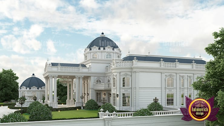"Magnificent White Home Castle: {:asian=>""asian"", :classic=>""classic"", :colonial=>""colonial"", :country=>""country"", :eclectic=>""eclectic"", :industrial=>""industrial"", :mediterranean=>""mediterranean"", :minimalist=>""minimalist"", :modern=>""modern"", :rustic=>""rustic"", :scandinavian=>""scandinavian"", :tropical=>""tropical""}  by Luxury Antonovich Design,"
