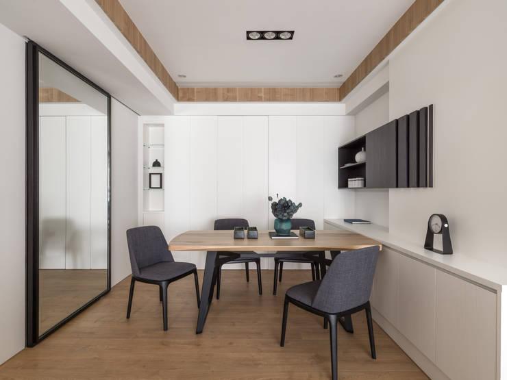 餐廳:  餐廳 by 存果空間設計有限公司, 現代風