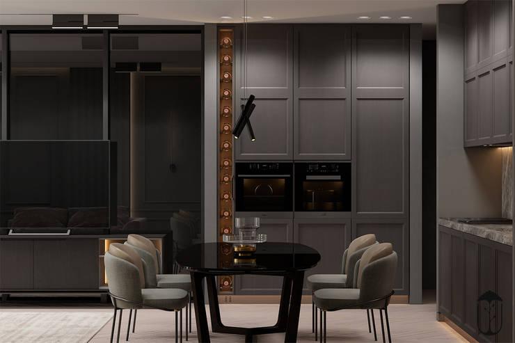 Cocinas de estilo ecléctico de U-Style design studio Ecléctico