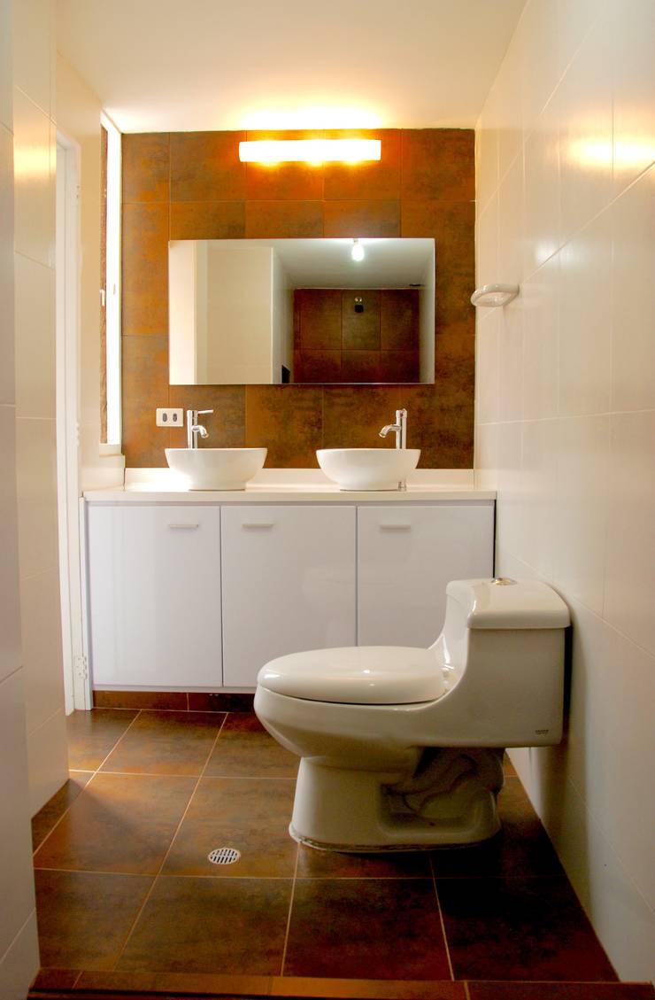 espacios: Baños de estilo  por David Fernando Enciso, Moderno