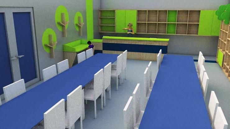 Proyecto Interior, Remodelación de Espacio: Estudios y biblioteca de estilo  por SPATIA, Moderno