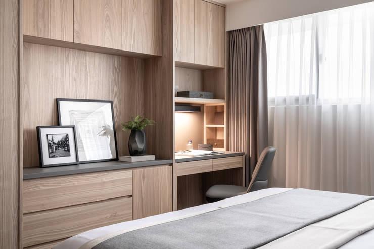 化妝台:  臥室 by 存果空間設計有限公司, 現代風