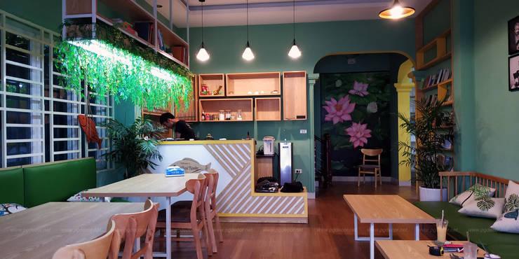 Bookcaffe Phòng học/văn phòng phong cách hiện đại bởi PGdecor Hiện đại