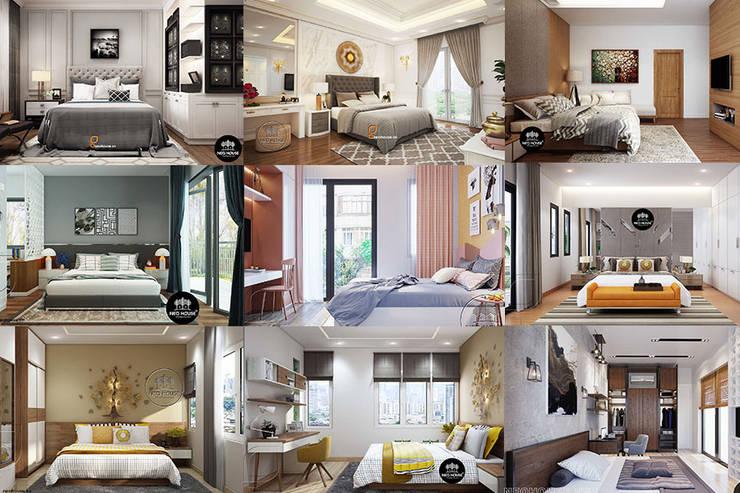 Tập hợp 20 mẫu thiết kế nội thất phòng ngủ hiện đại mà đơn giản bởi NEOHouse