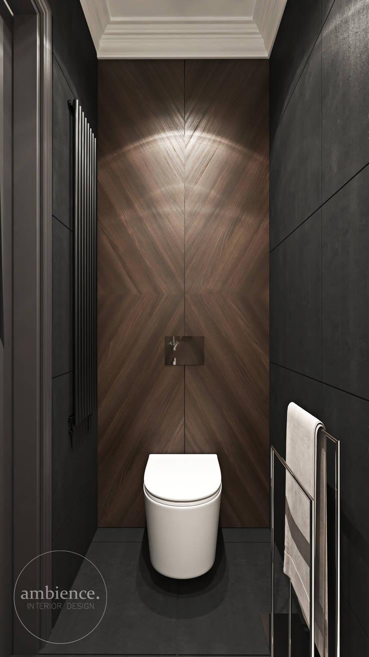 Łazienka. Ambience. Interior Design Nowoczesna łazienka od Ambience. Interior Design Nowoczesny