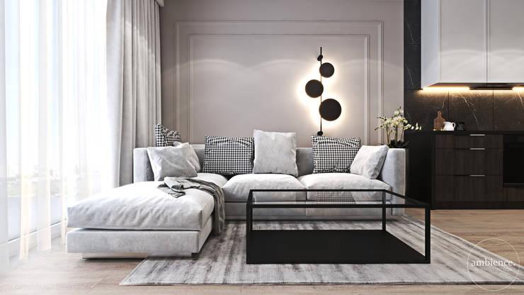Salon. Ambience. Interior Design Nowoczesny salon od Ambience. Interior Design Nowoczesny