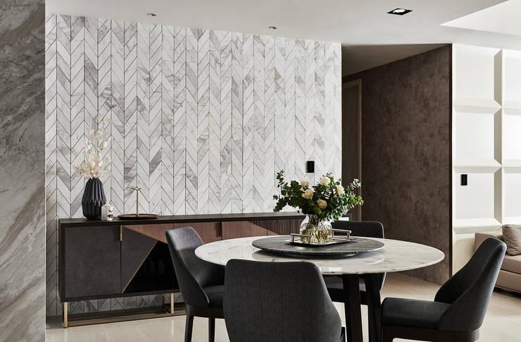 Best 10:  餐廳 by 理絲室內設計, 現代風