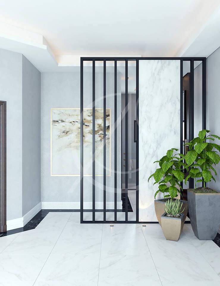 Modern Luxury House Interior Design Couloir, entrée, escaliers modernes par Comelite Architecture, Structure and Interior Design Moderne