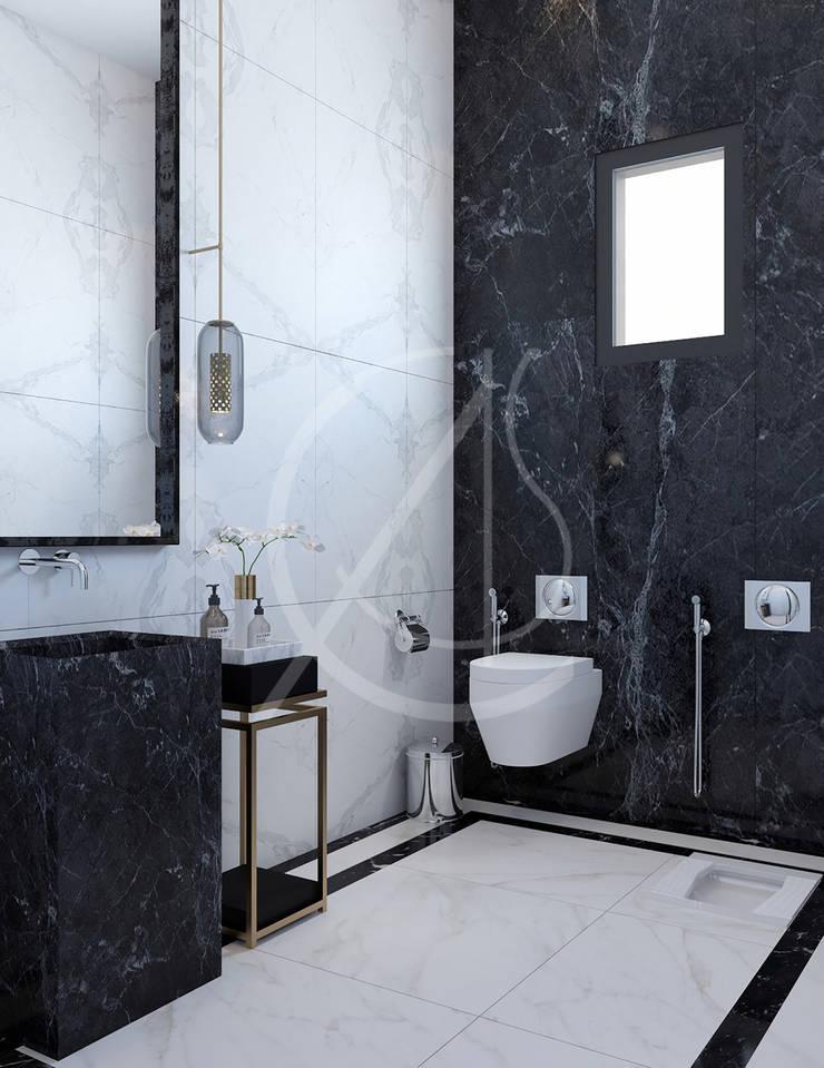 Modern Luxury House Interior Design Salle de bain moderne par Comelite Architecture, Structure and Interior Design Moderne Marbre