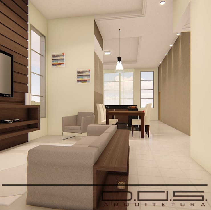 by D.O.S. Arquitetura Modern Wood Wood effect