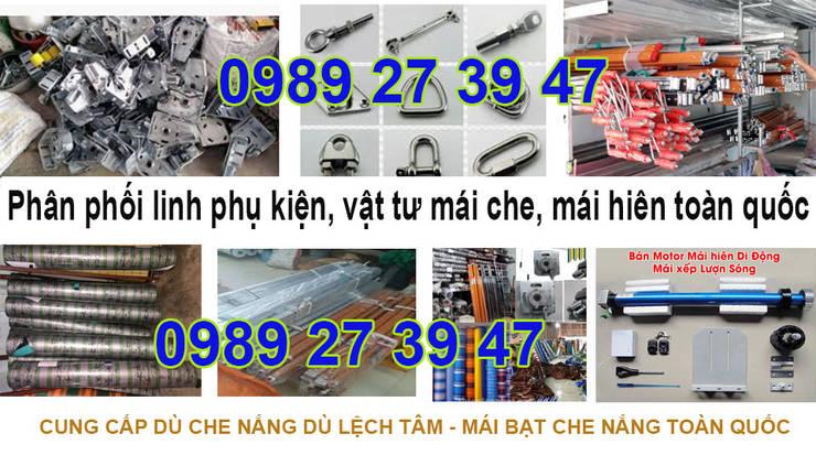 Nhà Máy Sản Xuất Phụ Kiện Mái Che Quay Tay : Châu Á  by MAICHEDONGANH.COM, Châu Á Vải lanh / vải lanh Pink