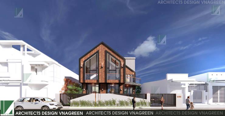 BIỆT THỰ NGHỈ CUỐI TUẦN - 2 TẦNG - CÁT BÀ, HẢI PHÒNG bởi công ty cổ phần Thiết kế Kiến trúc Việt Xanh