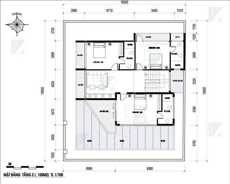 BIỆT THỰ NGHỈ CUỐI TUẦN – 2 TẦNG – CÁT BÀ, HẢI PHÒNG bởi công ty cổ phần Thiết kế Kiến trúc Việt Xanh