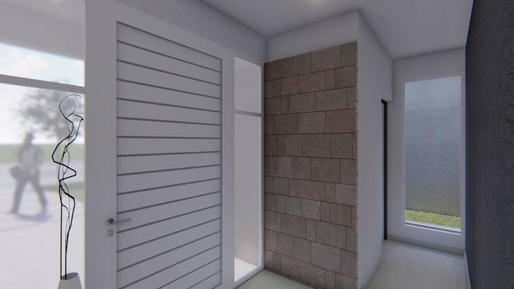 Corridor & hallway by ARBOL Arquitectos , Minimalist