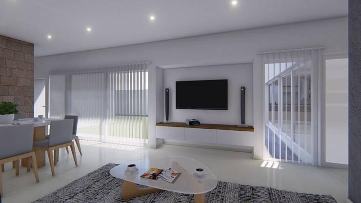 Living room by ARBOL Arquitectos , Minimalist