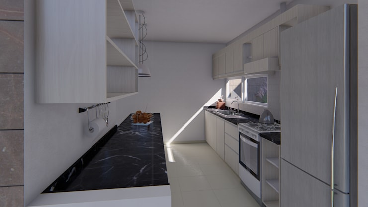 Kitchen by ARBOL Arquitectos , Minimalist