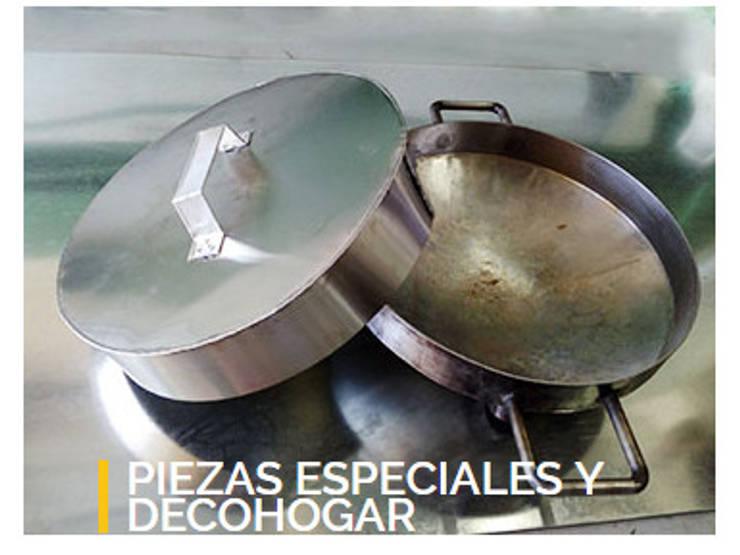 DecoHogar y Piezas especiales:  de estilo  por Hojalateria, Mediterráneo Cobre/Bronce/Latón
