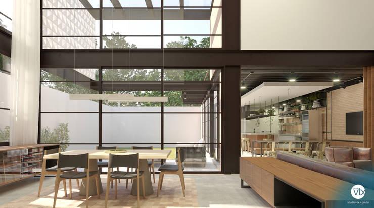 Столовые комнаты в . Автор – studio vtx, Лофт