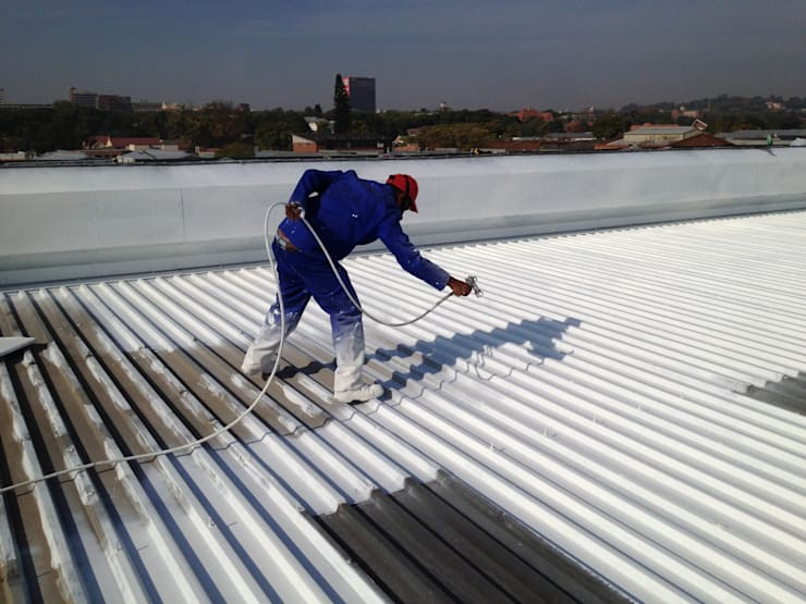 Industrial Roof Coatings by Design Waterproofing Systems Industrial