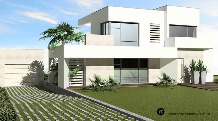 Villas by ATELIER OPEN ® - Arquitetura e Engenharia, Modern Iron/Steel