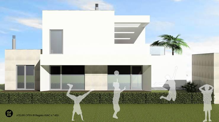 Single family home by ATELIER OPEN ® - Arquitetura e Engenharia, Modern Iron/Steel