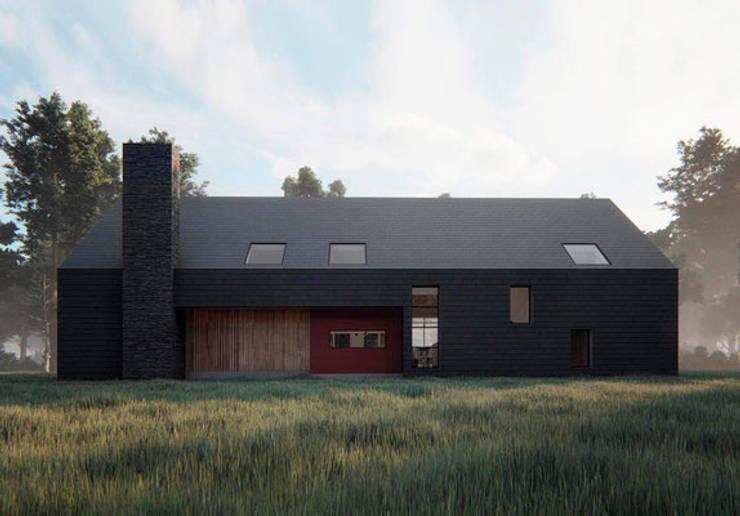 Casa VL: Casas de estilo  por Soc. Constructora Cavent Spa, Moderno