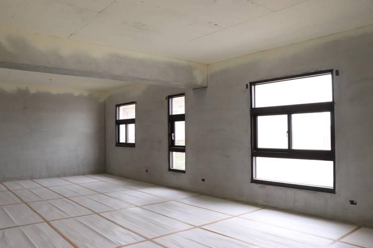 現代美感住宅-海線獨立建案:  溫室 by 鵝牌氣密窗-台中直營店, 現代風