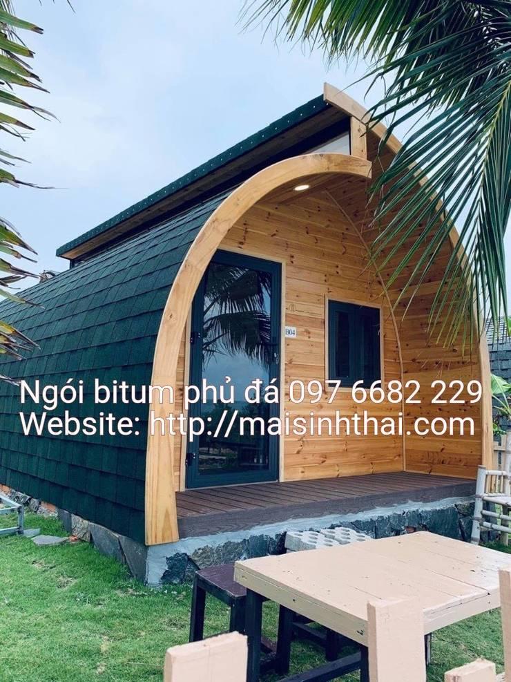 Nhà homestay bởi Công ty TNHH Xây dựng và Thương mại Việt Pháp Hiện đại Nhựa