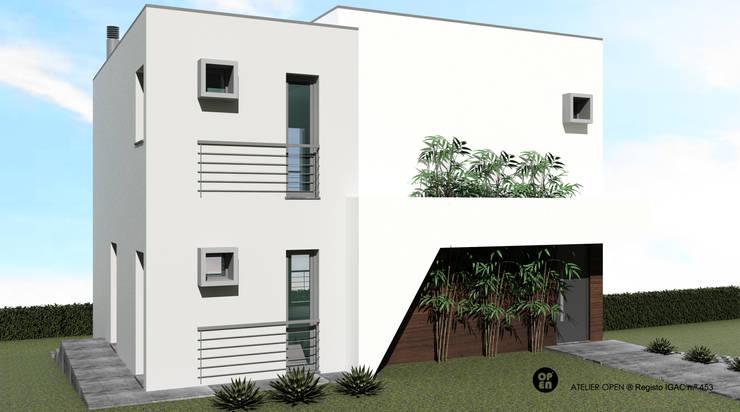 Single family home by ATELIER OPEN ® - Arquitetura e Engenharia, Minimalist OSB